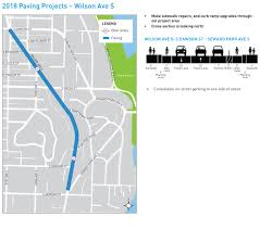 Seattle Parking Map by Seattle Department Of Transportation 2018 Seattle Paving Projects