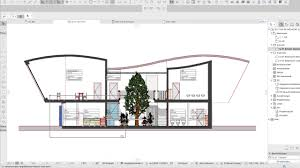 archicard add on raumstempel information im schnitt youtube
