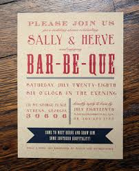 backyard bbq wedding invitation wording backyard party invitation