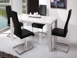 Gloss White Dining Table And Chairs 57 High Dinner Table Set Dining Table High End Dining Tables