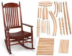 Rocking Chair Conversion Kit Fancy Rocking Chairs Parts And Rocking Chair Design Rocking Chair