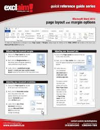 quick reference guide template word quick reference guide