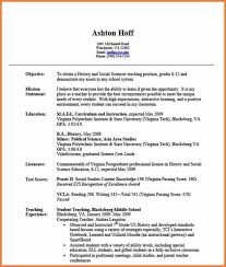 Resume Objective Statement For Teacher Mission Statement Resume Sop Proposal