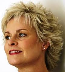 hairstyle for women over 50 with long nose short spikey hairstyles for women over 50