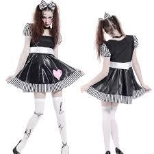 ladies dorothy broken doll costume cosplay carnival halloween