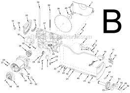 Ridgid Table Saw Parts Ridgid Ts2400 Parts List And Diagram Ereplacementparts Com