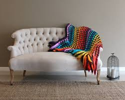 throw blanket throw afghan knit throw blanket colorful
