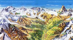 zermatt switzerland summer map zermatt switzerland u2022 mappery