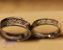 wedding bands sets wedding band set etsy