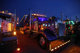 sriracha car west coast customs create a picturesque rig at night kenworth super trucks