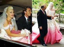 one of a kind fashion u2013 10 amazing coloured celebrity wedding