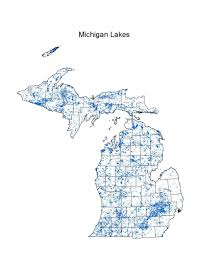 map of michigan lakes michigan lakes michigan inland lakes partnership