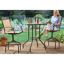Bistro Set Bar Height Outdoor by Bar Height Patio Sets Interior Design