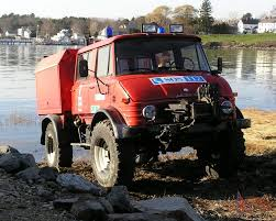 unimog 1981 doka cab fire rescue vehicle