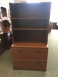 2 Drawer Lateral Filing Cabinet by Haworth 2 Drawer Lateral File W 2 Shelf Hutch Laber U0027s Furniture