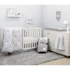 All White Crib Bedding Modern Crib Bedding Allmodern