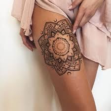 mandala tattoo zum aufkleben 1001 bein tattoo ideen für jeden geschmack und jedes alter