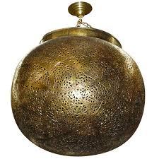 Morrocan Chandelier Very Fine Brass Moroccan Chandelier Lantern Pendant At 1stdibs
