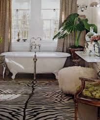 zebra bathroom decorating ideas zebra prints and decorative patterns for modern bathroom decorating