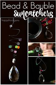 bead and bauble sun catcher ornaments happy hooligans