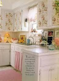 shabby chic kitchen cabinets shabby chic kitchen cabinet shabby chic kitchen wallpapered cabinets