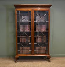 Small Two Shelf Bookcase Antique Bookcases For Sale Bobsrugby Com