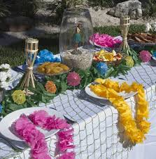 luau table centerpieces 18 best luau images on luau birthday luau
