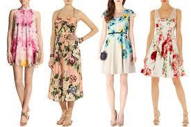 Summer Garden Wedding Guest Dresses - flower power floral wedding guest dresses onefabday com