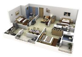 three bedroom floor plans 50 three bedroom apartmenthouse plans roommate bedrooms 3 house