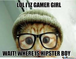 Hipster Dog Meme - living with gamer cat and hipster dog by dark nevermore meme center