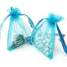Favor Bags by Mudder Organza Gift Bags White Wedding Favor