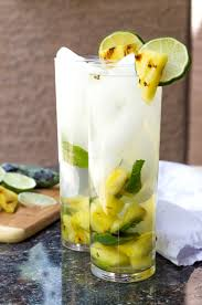 mojito cocktail grilled pineapple jalapeño mojito cocktail