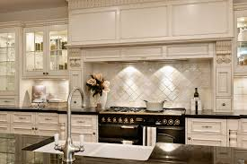 french kitchen backsplash best french country kitchen with ceramic backsplash tiles 8923