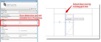 Curtain Size Converter Adding A Door To Curtain Wall Learning Revit