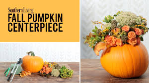 pumpkin decoration images fall pumpkin centerpiece fall decoration youtube