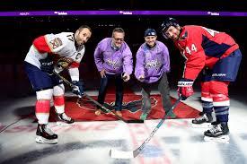 capitals host hockey fights cancer awareness night capital u0027s today
