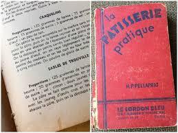 livre de cuisine ancien c est moi qui l ai fait les sablés de trouville vintage ou ce
