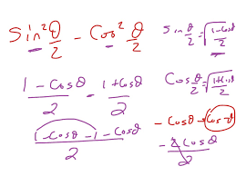 14 7 double angle and half angle identities math trigonometry