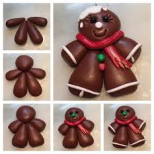 5 days of free polymer clay ornament tutorials iced gingerbread