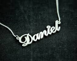 brand name necklace images Daniel name necklace etsy jpg