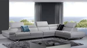 Modern Leather Sofa Furniture Modern Leather Sectional Sofa Living Room And Modern