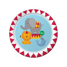 first birthday circus circus party party plates carnival party circus birthday