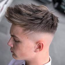 razor cut hairstyle with spiky on top best men s haircuts 2018