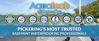 basement waterproofing pickering 416 300 2191 aquatech
