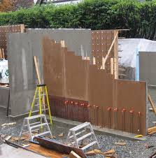 cantilevered concrete stair formwork 2 stair pinterest