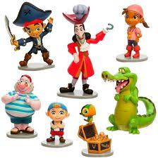 disney authentic captain jake figurine cake topper neverland