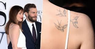 25 stars et leurs tatouages dakota johnson allociné