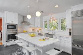 Country Kitchens With White Cabinets by Brighten Your Kitchen With Sparkling White Quartz Countertop