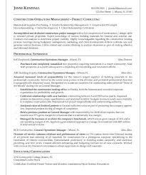 Resume Of Experienced Construction Manager Haadyaooverbayresort Com Wp Content Uploads 2017 0