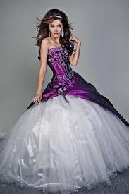 Purple Wedding Dresses Purple And White Wedding Dresses Plus Size 2016 2017 B2b Fashion